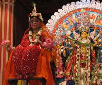 Ashtami Durga puja kumari puja