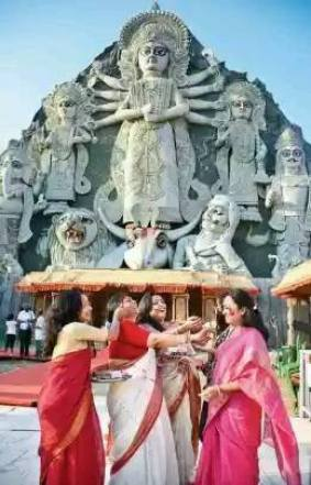 largest durga 88ft