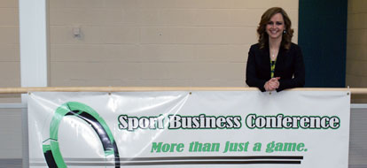 Sport Business Management students hold colleges first
