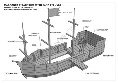 parts of a pirate ship diagram zenith updraft carburetor schematic from pit to sandpit part 3 long live outdoor play
