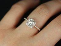 Thin Band Engagement Rings - Durham Rose