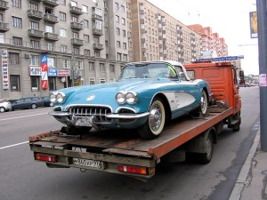 Towing your Vintage Car