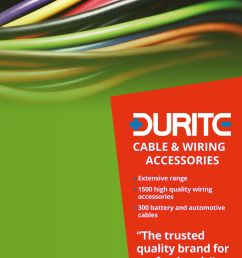 durite cable and wiring accessories catalogue [ 893 x 1263 Pixel ]