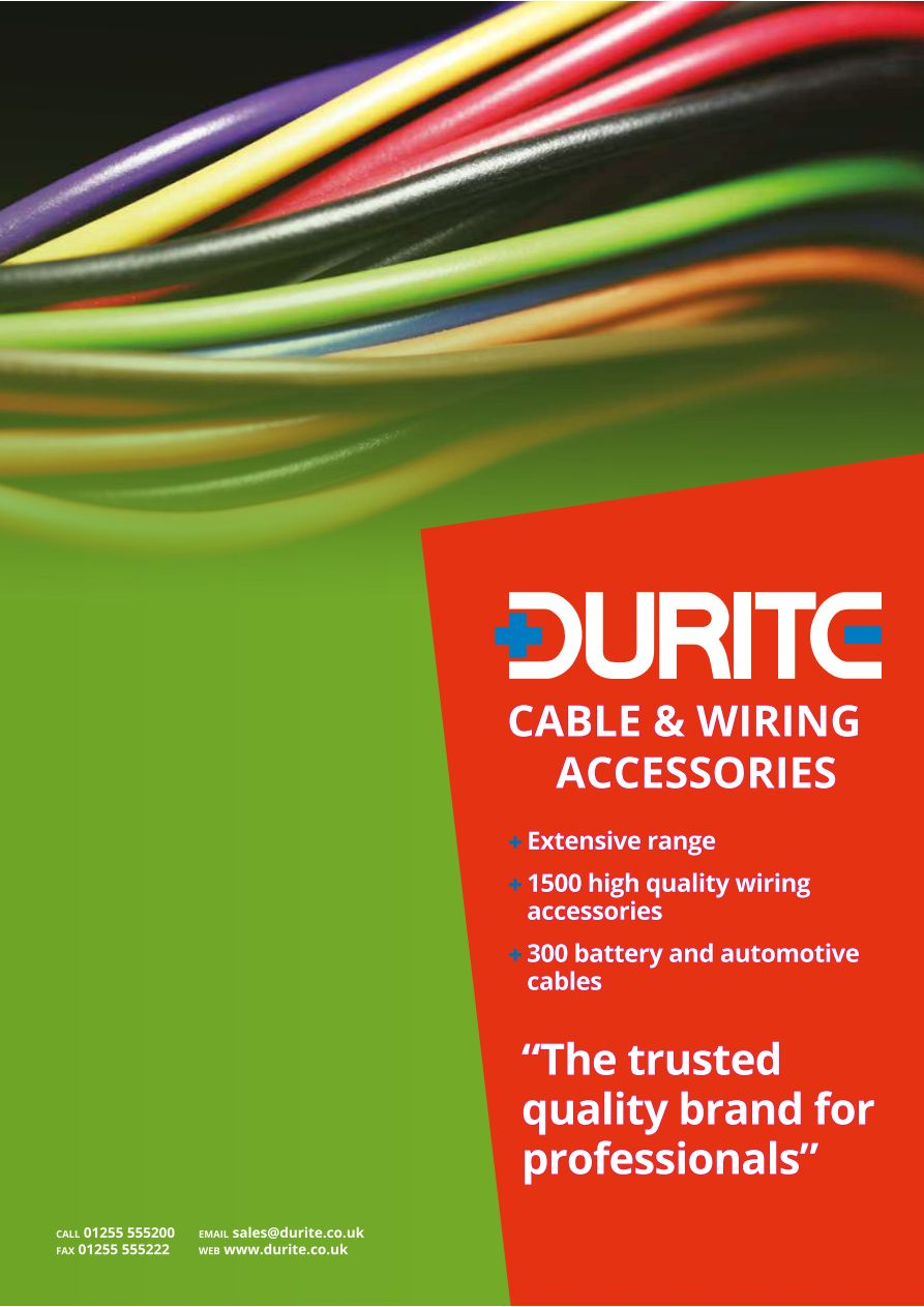 medium resolution of durite cable and wiring accessories catalogue