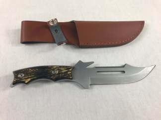 Knife Silver - Sawtooth