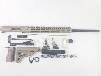 """24"""" FDE rifle build kit -223 wylde"""