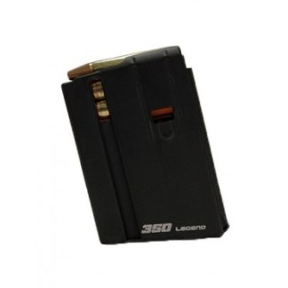 ASC .350 LEGEND 5-ROUND AR-15 MAGAZINE, BLACK