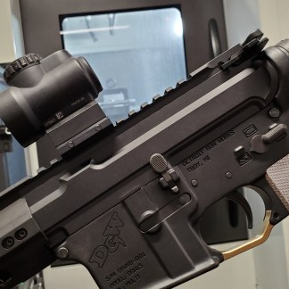 AR-15 Slick-Side Billet Upper Receiver