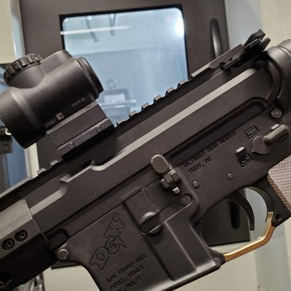 AR-15 Slick-Side Billet Upper Receiver
