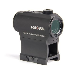 HOLOSUN MICRO 2 MOA RED DOT SIGHT WITH SHAKE AWAKE