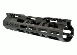 10 MMARZ10 M-LOK Handguard with Partial Top Rail, 10 AR-15 223:5.56. Angle