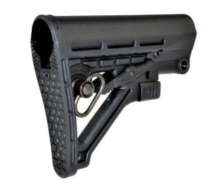 Mil-Spec Adjustable Stock w: QR Sling Adapter