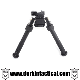 QD Tactical Bipod Flat with Adjustable Legs 6.5 - 9""