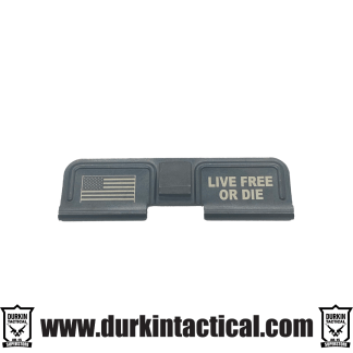 Durkin Tactical Dust Cover | Live Free Or Die + Flag