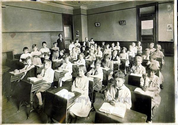 1920 High School Education