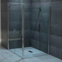 Duschwnde und Duschabtrennungen aus Glas