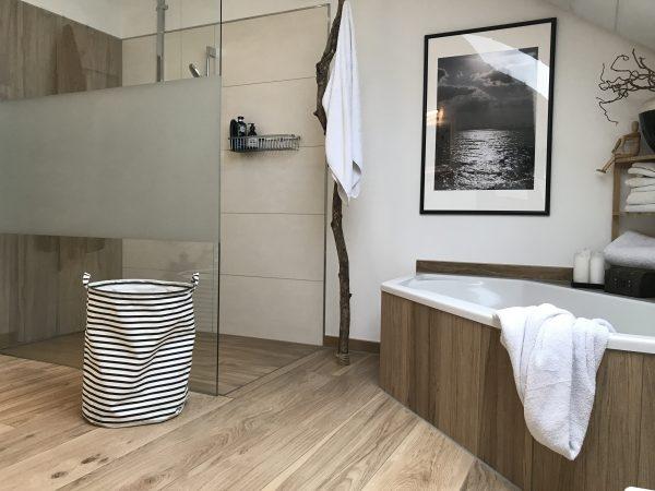 Bad gemtlich einrichten Jennys modernes gemtliches Badezimmer