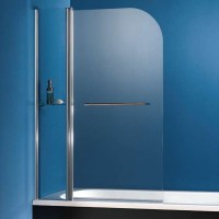 HSK Exklusiv Badewannenaufsatz mit Handtuchhalter und ...