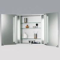 Badezimmer Spiegelschrank HSK ASP SOFTCUBE 750 Alu Korpus