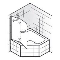 Badewannenaufsatz fr 5-Eck oder 6-Eck Badewannen - Art ...