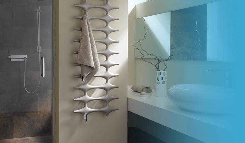 Heizkrper fr Badezimmer und Wohnzimmer bei Duschmeisterde