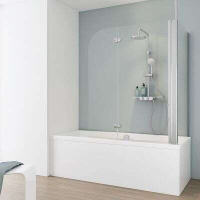Schulte Garant Badewannenaufsatz Mit Seitenwand 2 Teilig
