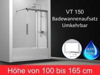 Duschabtrennungen Longueur 150 - badewannenaufsatz 150 cm ...