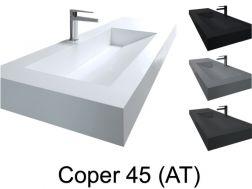 Waschtischplatte Waschbecken Hangendes Oder Eingebautes Waschbecken In Badmobeln 45 X 140 46 X 140 50 X 140 55 X 140 60 X 140 Cm