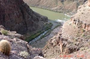 Tapeats meets Colorado River