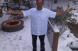 snow in Prescott