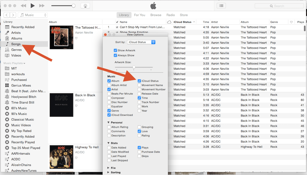 iTunes Match - fixing