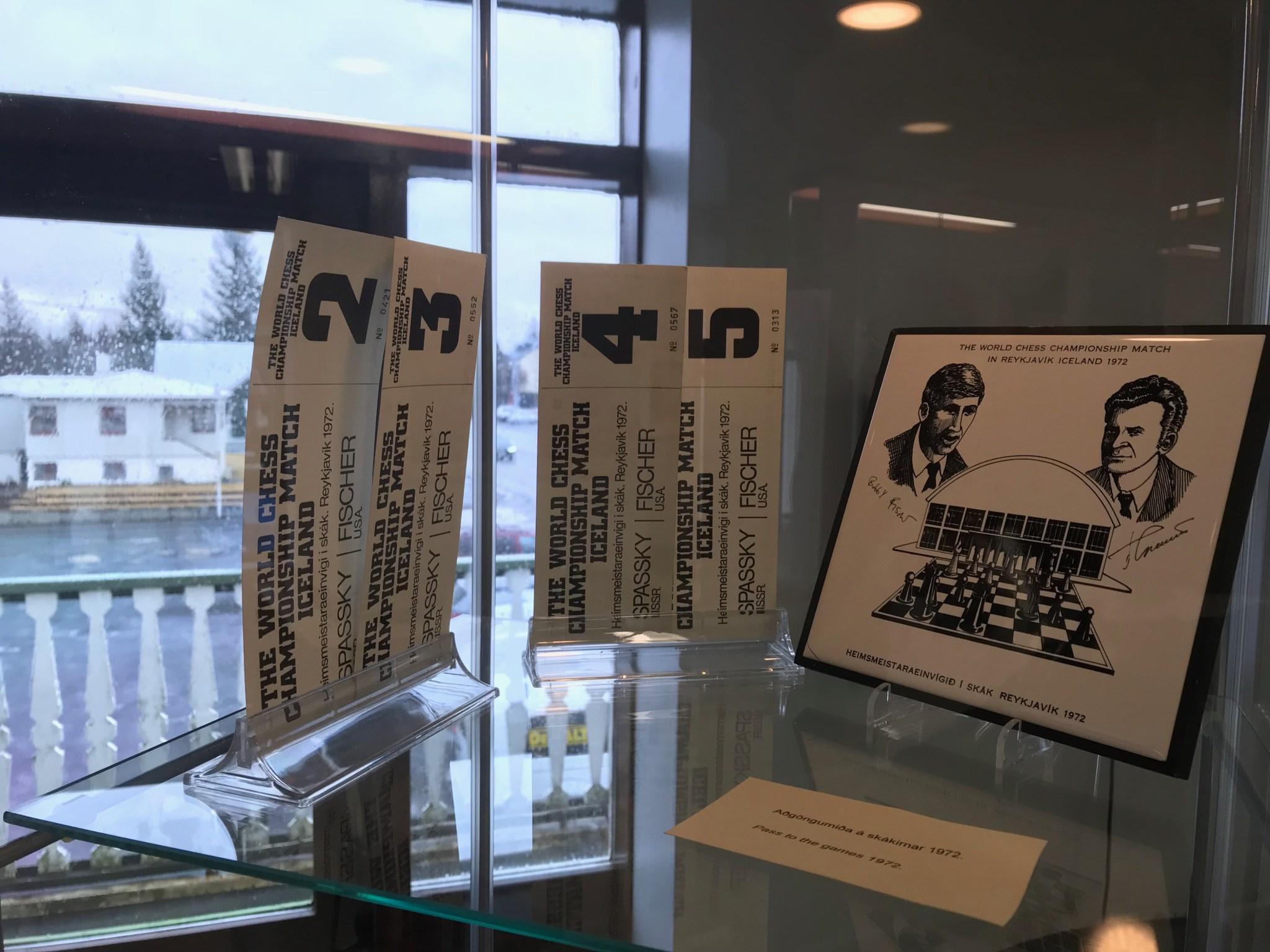 Boris Spassky Bobby Fischer Tickets
