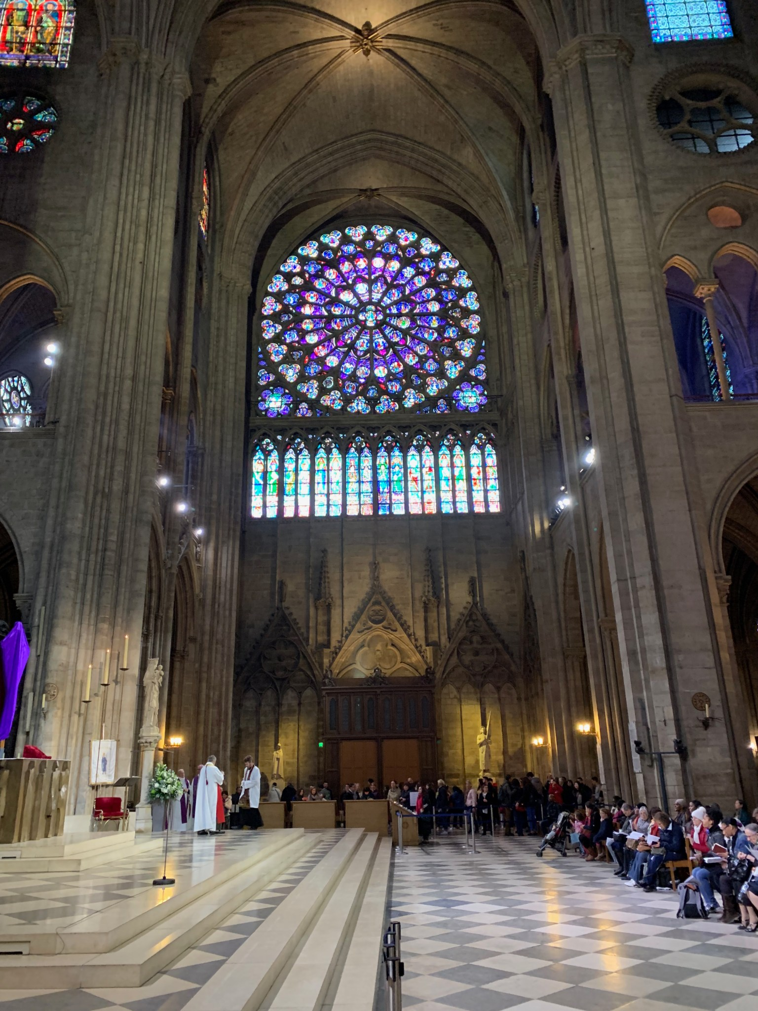 Notre-Dame south rose window