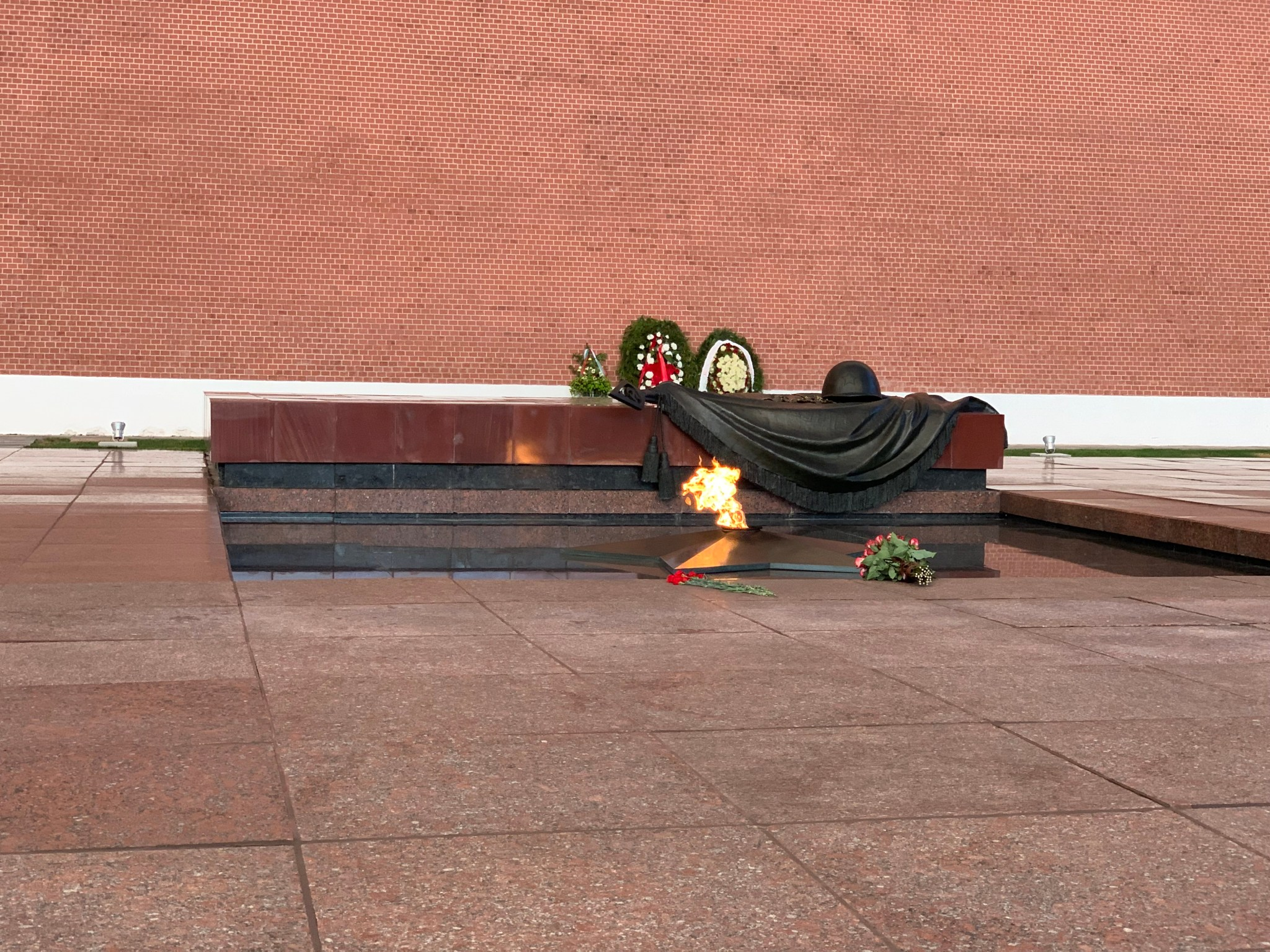 Tomb of Unknown Soldier Red Square Kremlin
