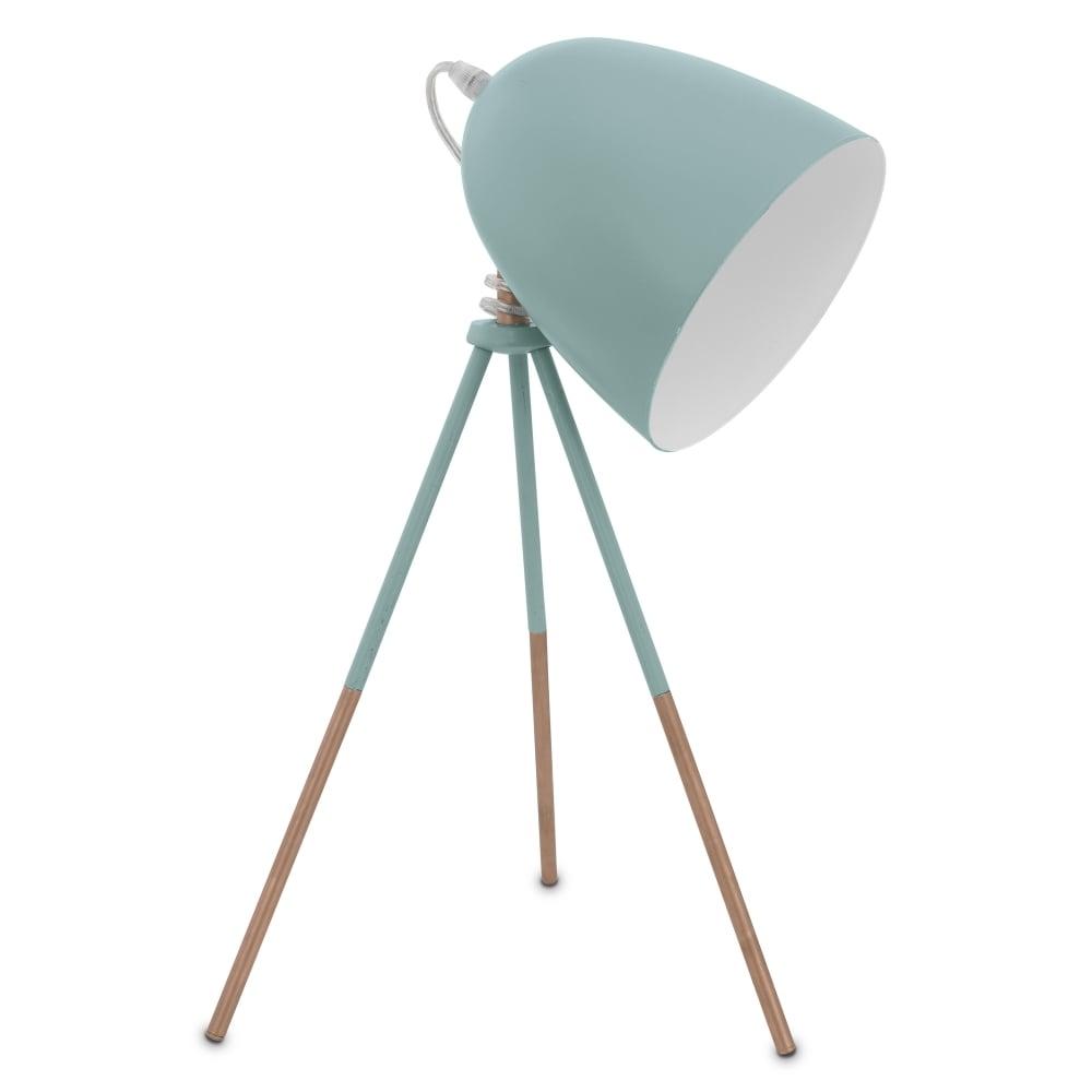 medium resolution of dundee mint tripod table lamp