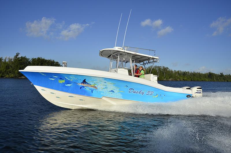 Dusky Marine  Custom Built Offshore  Shallow Water