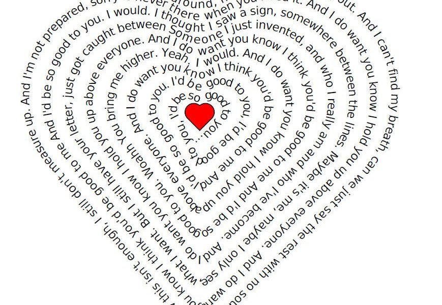 Lyrics to Marianas Trench - Good To You - Heartified.