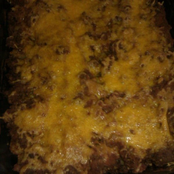 Tator Tot Taco Pie - Out of the Oven