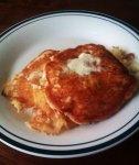 Pear Walnut Pancakes - Plated