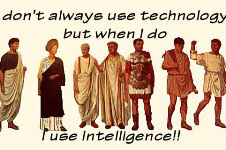 Ancient Technology - Intelligence required