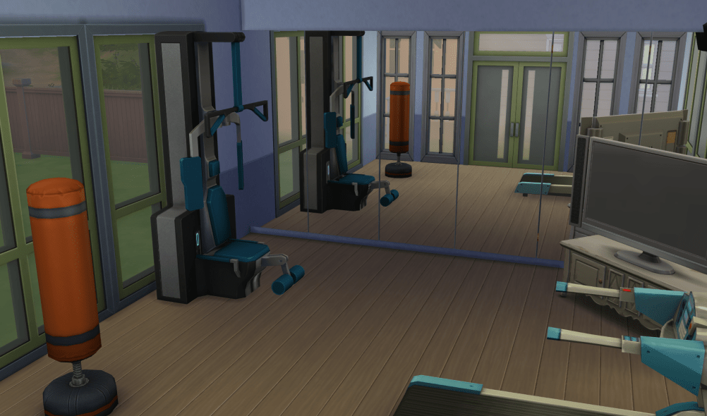 Sims 4 Download Home Gym Room •