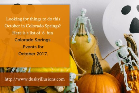 Colorado Springs Events For October 2017