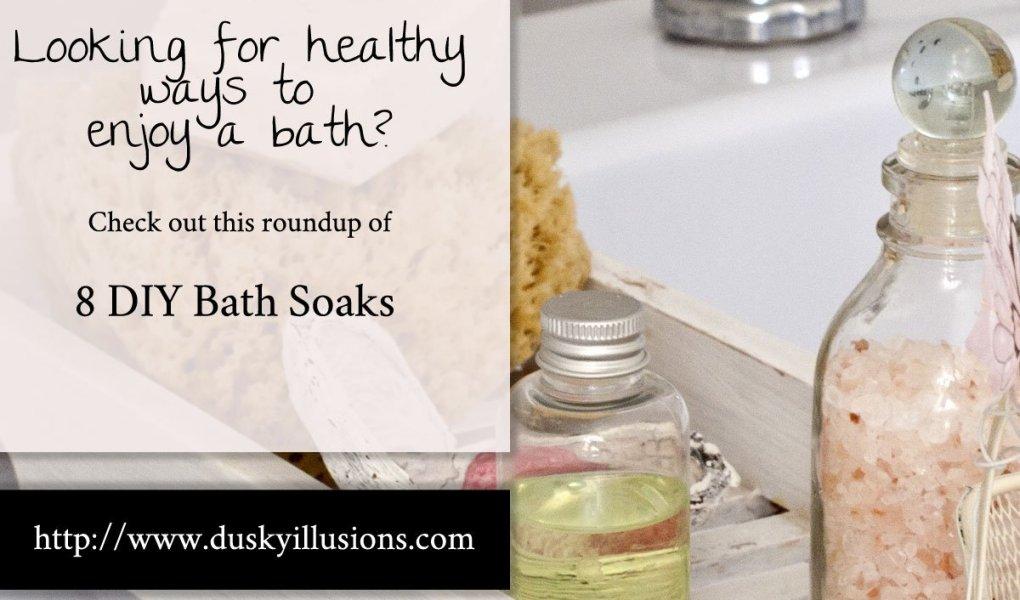 8 DIY Bath Soaks - A Recipe roundup