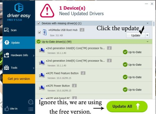 How to Update Your Drivers with Driver Easy