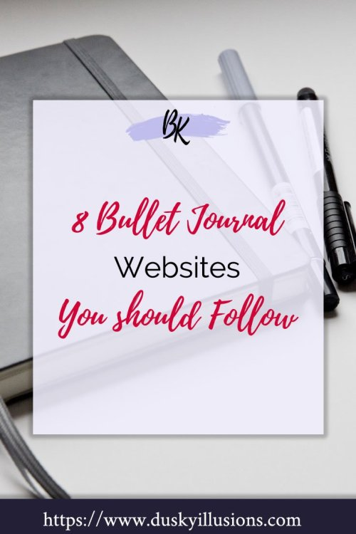 Bullet Journal Websites