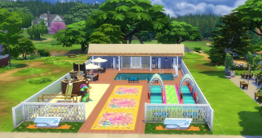 Sims 4 Community Pool - Newcrest   Bri K's Dusky Illusions