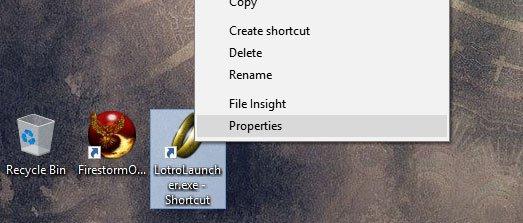LOTRO Shortcut