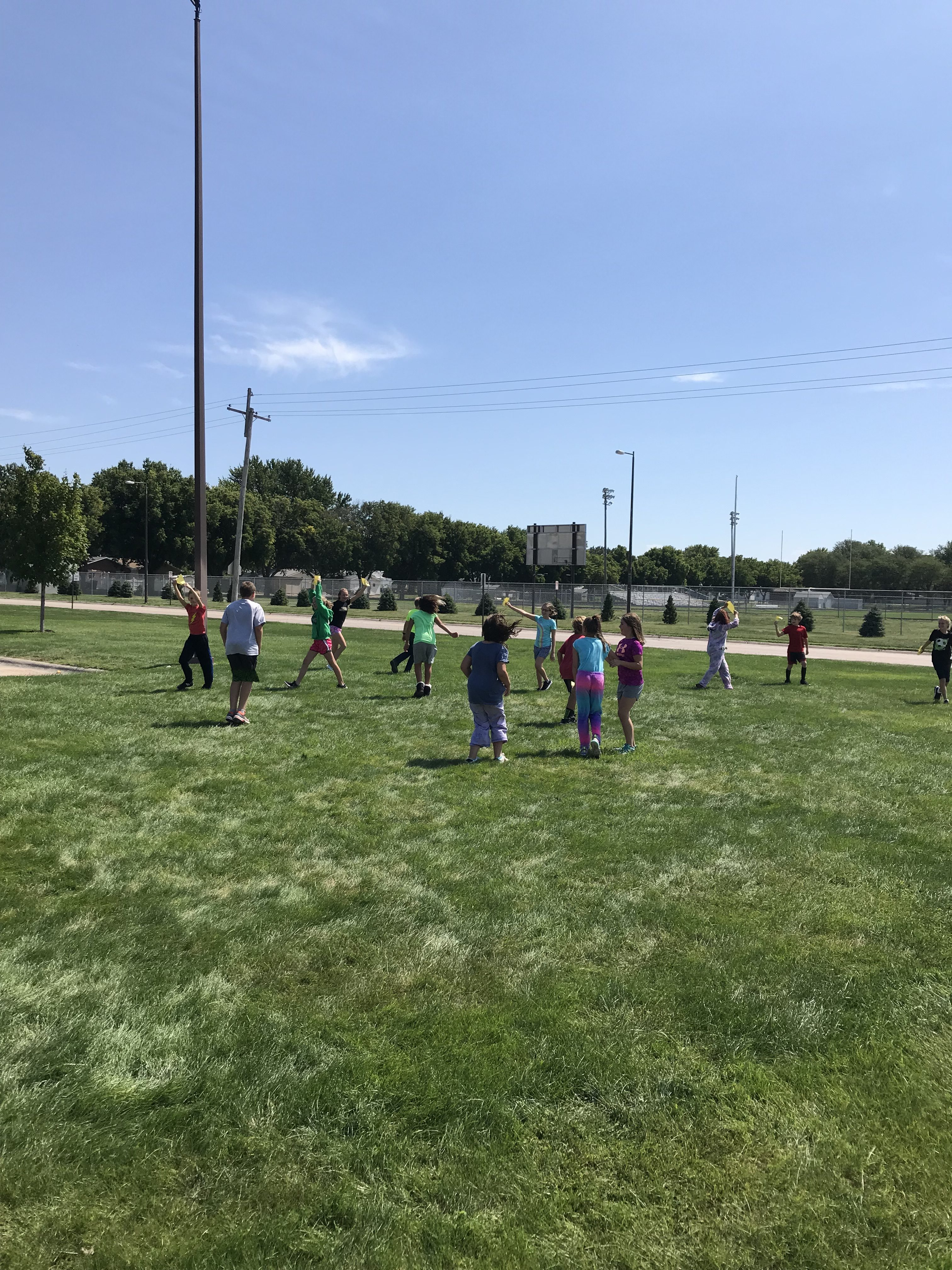5th Grade Science Classes Demonstrate Food Chains