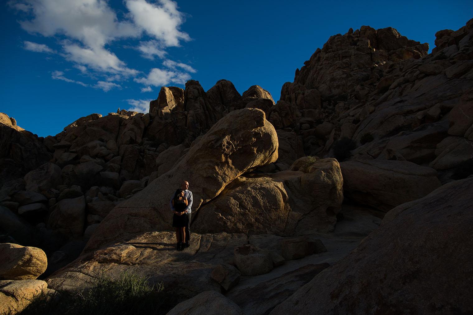 Joshua Tree National Park Engagement Photos