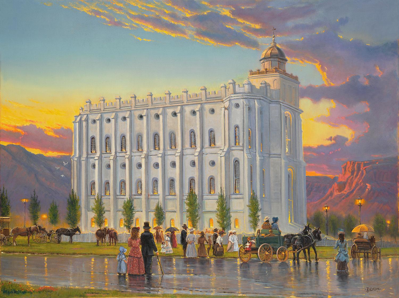 St George Utah Temple DLyon Art Historical LDS Temple